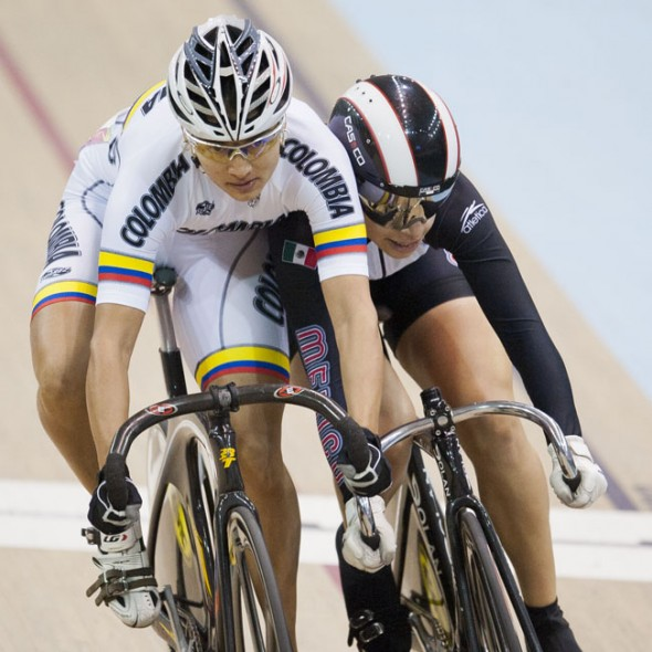 Round at the pan american veolodrome part of the pan american games