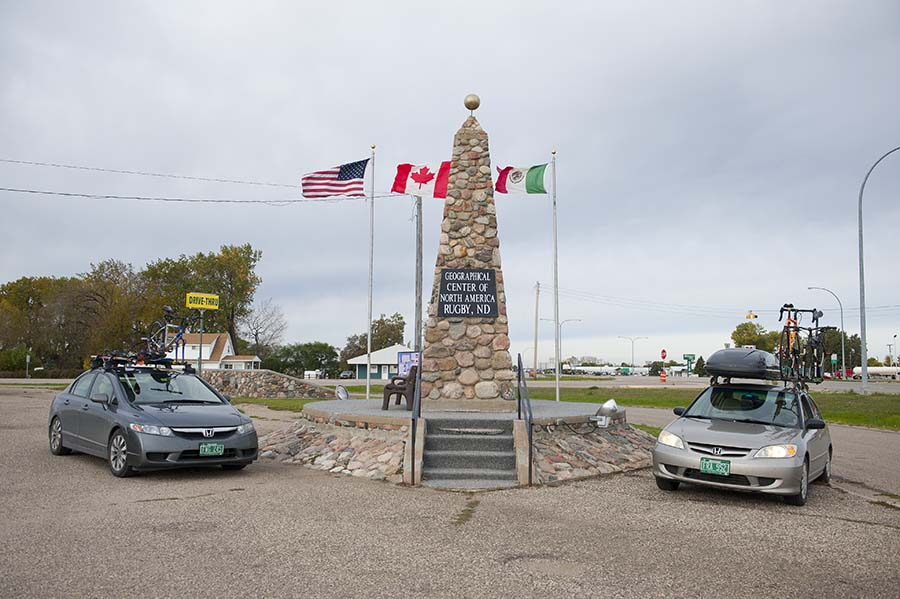 Geographic Center of North America, Rugby, ND
