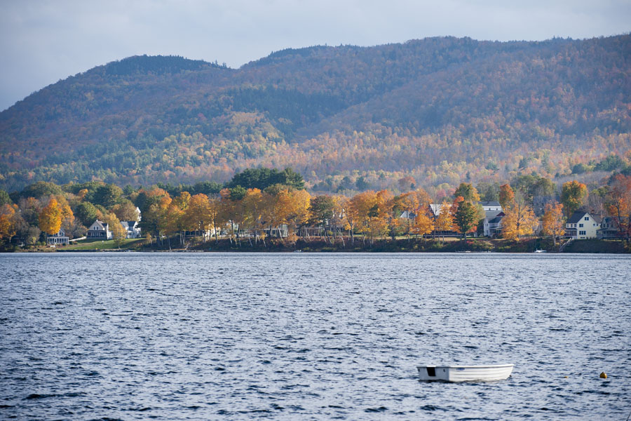Mascoma Lake, New Hampshire - Oct. 14, 2014